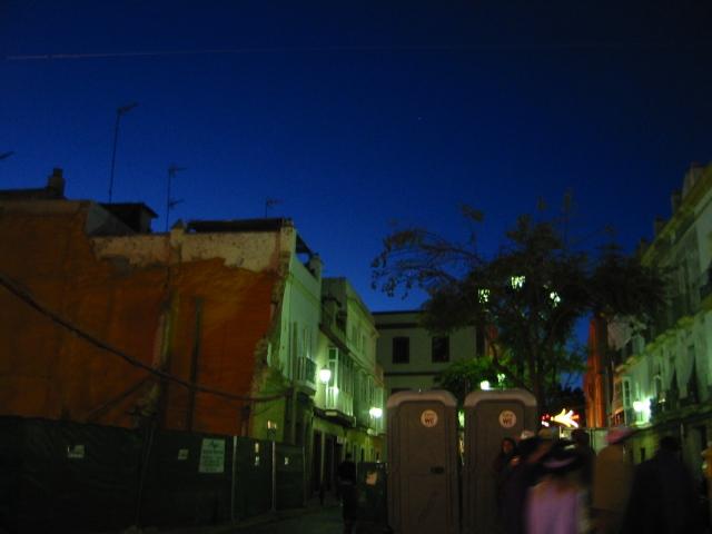 Cádiz a noche