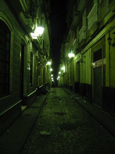 Calle tipico de Cádiz