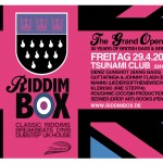 Riddim Box - Grand Opening