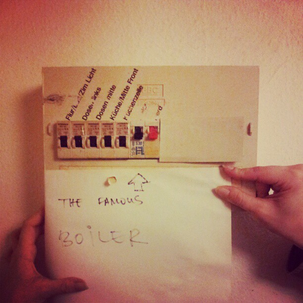 The famous boiler.