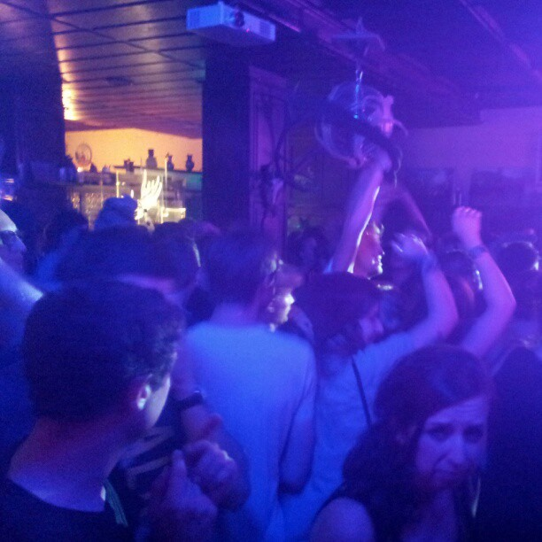 Party hard. Schlachthofbronx at Haus Unkelbach.