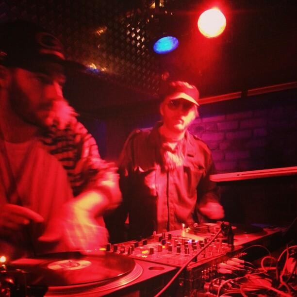 Gutta and DJ Rooks killing it.