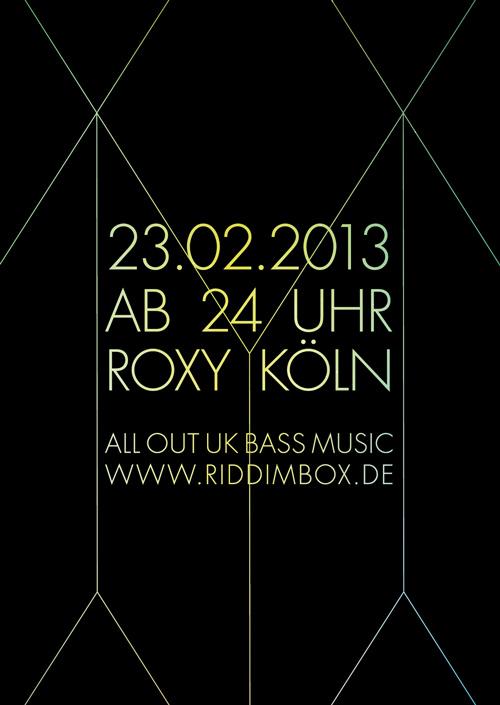 Riddim Box im Roxy
