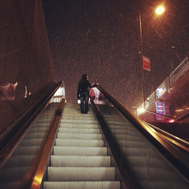 Irie snow storm.
