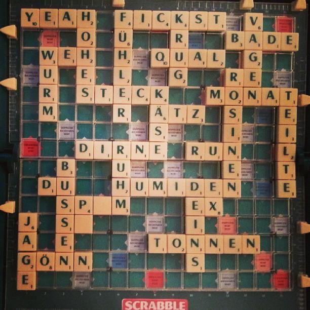 Scrabble per due.