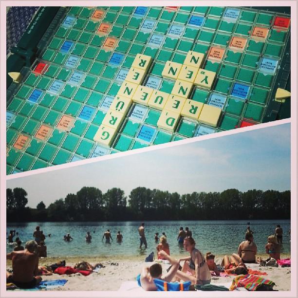 Scrabble and Sun.