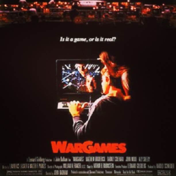 1983 War Games. Btw: Happy Birthday! Evolution 3.