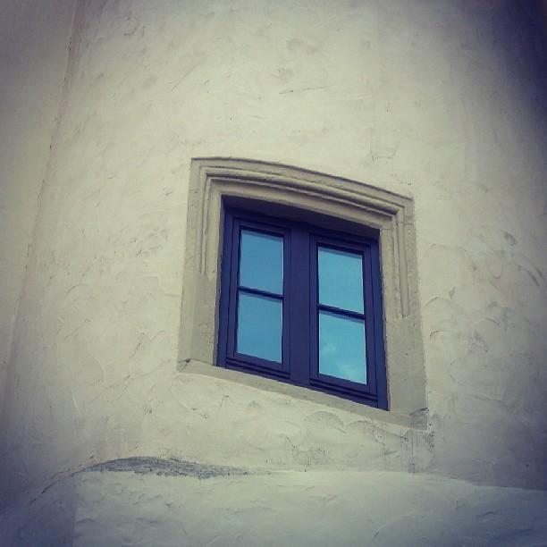 Fenster zum Hof.