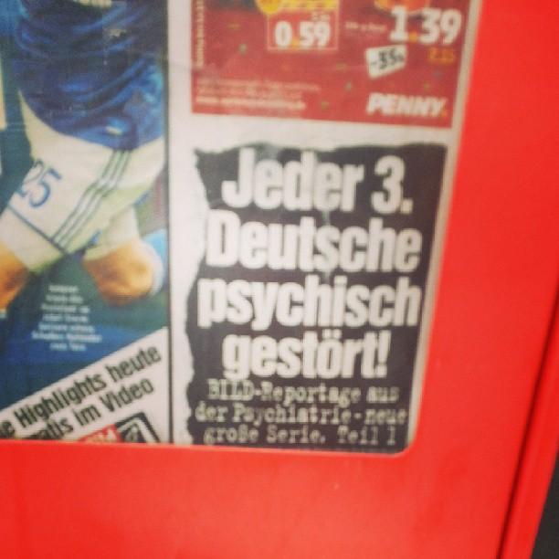 Was? Jeder 3. Deutsche liest Bild?!