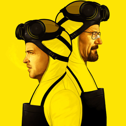 Breaking Bad Art by Mike Mitchell