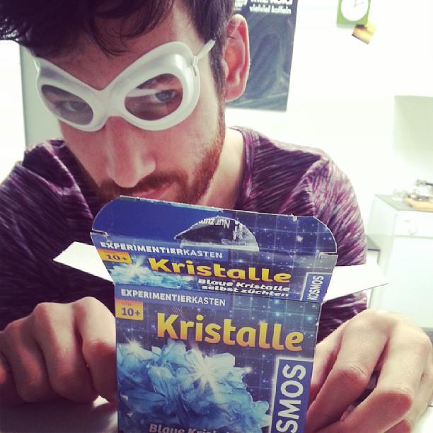 Blue crystals DIY #neuesausderwg #breakingbad