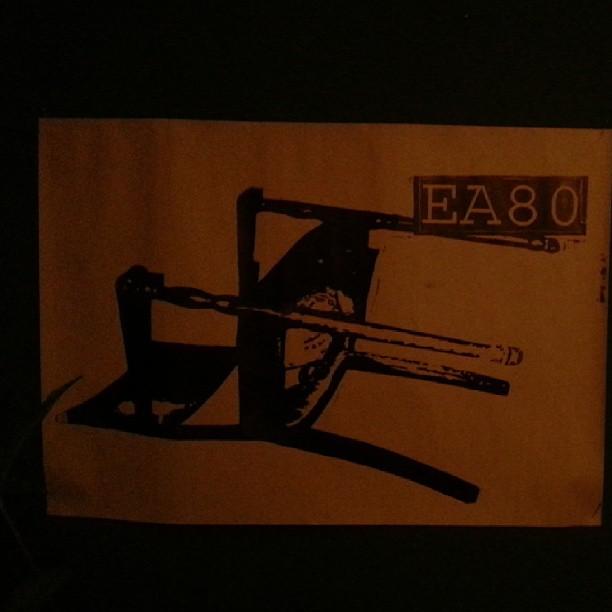 EA80 bootleg print.