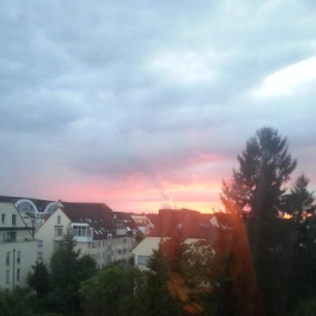 Sky above Ehrenfeld.
