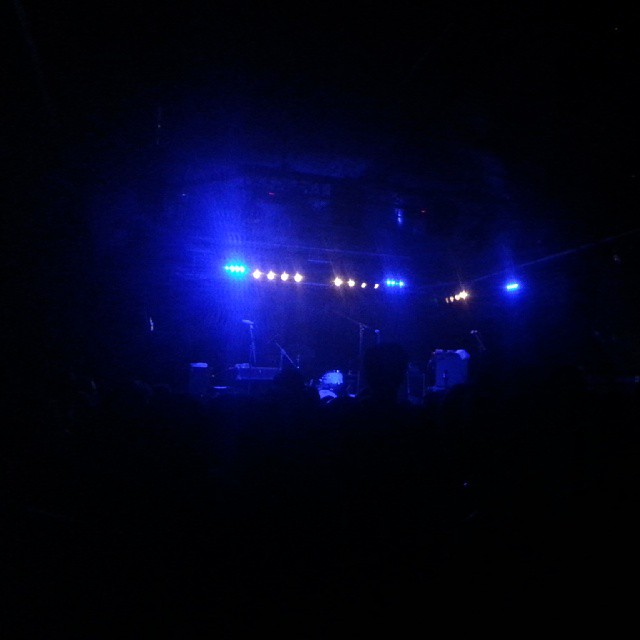 The audience still listening #leefields